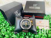 Naviforce Digital-Analog Leather Watch | Watches for sale in Greater Accra, Adenta Municipal