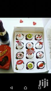 Cupcakes Box Of Chocolate And One Champagne To A Loved One | Meals & Drinks for sale in Greater Accra, Tema Metropolitan