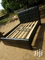 Black Leather Bed 💖🖤💖💖💯👍 | Furniture for sale in Greater Accra, East Legon