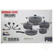 German Home 16 Piece Nonstick Cookware Set- Black | Kitchen & Dining for sale in Greater Accra, Achimota