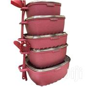 Dessini Granite Cookware Set -22 Pieces Pink | Kitchen & Dining for sale in Greater Accra, Achimota