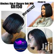 8kim K Closure Bob Wig | Hair Beauty for sale in Greater Accra, Ga East Municipal
