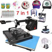 7 In 1 Heat Press (With Pen Press) Machines | Printing Equipment for sale in Greater Accra, Ga East Municipal