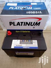 17 Plates Platinum Car Battery - Free Delivery - L200 | Vehicle Parts & Accessories for sale in Central Region, Awutu-Senya
