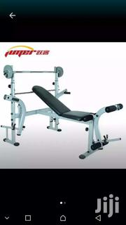 Weight Bench With 50kg Weight And Bar | Sports Equipment for sale in Greater Accra, Dzorwulu