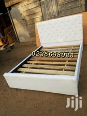 Turkish White Leather Bed 💖🖤💖💯👌👍 | Furniture for sale in Greater Accra, East Legon