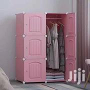 6 Cubes Wardrobe 3D Doors - Pink   Furniture for sale in Greater Accra, Achimota