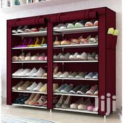 12 Tier Shoe Rack - Wine Red   Furniture for sale in Greater Accra, Achimota