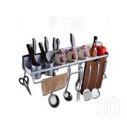 Kitchen Storage Rack -50cm Silver | Home Accessories for sale in Greater Accra, Achimota