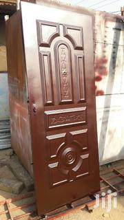 Security Door Made By Electric Welder And Sprayed By Me.   Doors for sale in Greater Accra, Achimota