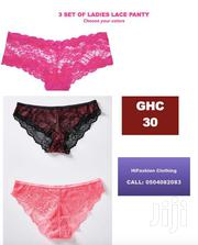 3 Set Of Ladies Lace Panties | Clothing Accessories for sale in Greater Accra, Teshie-Nungua Estates