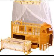 2 In 1 Wooden Baby Cot | Children's Furniture for sale in Greater Accra, Adabraka