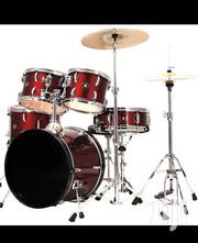 5 Pieces FBT Olympic Drums Set - Wine Red   Musical Instruments & Gear for sale in Greater Accra, Accra Metropolitan