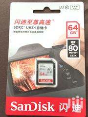 Sandisk Memory Card 64 Gig | Cameras, Video Cameras & Accessories for sale in Greater Accra, South Labadi