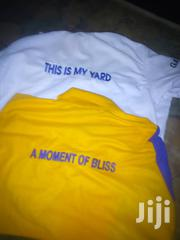 Quality T-Shirts With Customized Embroidery and Printing. | Clothing for sale in Eastern Region, New-Juaben Municipal
