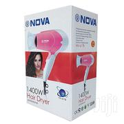 Nova Portable Hair Dryer White/Pink | Tools & Accessories for sale in Greater Accra, Achimota