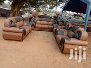 Big Leather Sofa Set | Furniture for sale in Greater Accra, Tema Metropolitan