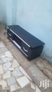 Black & White Tv Stand For Sel Now Free Delivery | Furniture for sale in Greater Accra, Odorkor