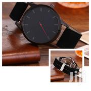 Black Men's Leather Watch | Watches for sale in Greater Accra, Tema Metropolitan