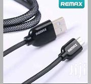 REMAX 2.4A Flat Full Speed Quick Charging Data Cable For Cell Phone | Accessories for Mobile Phones & Tablets for sale in Greater Accra, Dansoman