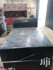 Leather Double Bed | Furniture for sale in Greater Accra, Ga West Municipal