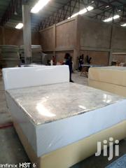 Leather Queen Bed | Furniture for sale in Greater Accra, Ga West Municipal