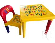 Kids ABC Table And Chair | Children's Furniture for sale in Greater Accra, Achimota