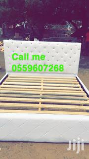 White Queen Size Bed for Sale | Furniture for sale in Greater Accra, Kotobabi