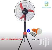 Vizio MIK-1831 Standing Fan  18' Black/Red | Home Appliances for sale in Greater Accra, Okponglo