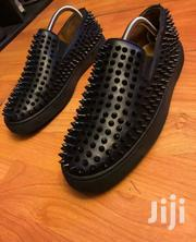 Christian Louboutin Black Roller-boat Veau Velours Spikes | Clothing for sale in Ashanti, Kumasi Metropolitan