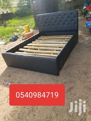 Double Folding Bed for Sale Black Leather | Furniture for sale in Greater Accra, Accra new Town