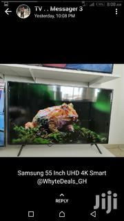 Samsung 55inch UHD 4k Smart Satellite TV | TV & DVD Equipment for sale in Greater Accra, Accra new Town