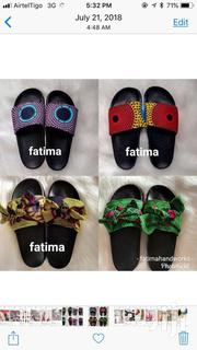 African Print Slip Ons | Shoes for sale in Greater Accra, East Legon (Okponglo)