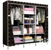 Fabric 3 In 1 Wardrobe | Furniture for sale in Greater Accra, North Kaneshie
