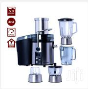 Dessini DS 299 4-In-1 Juice Extractor + Blender - 5 Litre Black | Kitchen Appliances for sale in Greater Accra, Teshie new Town