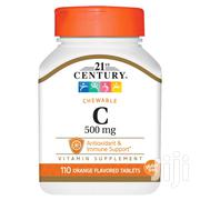 SUPPLEMENT: Chewable Vitamin C Orange - 500 Mg - 110 Tablets | Vitamins & Supplements for sale in Greater Accra, Achimota