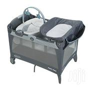 Baby Cot With Play Pen. It Is Foldable And Easy To Carry Around | Children's Furniture for sale in Greater Accra, East Legon