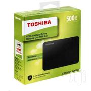 500GB TOSHIBA EXTERNAL DRIVE | Cameras, Video Cameras & Accessories for sale in Greater Accra, Nima