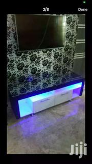 Classic Tv Stand With Light Inside It For Sell At Cheap Prices | Furniture for sale in Greater Accra, Kotobabi