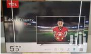 TCL 55 Inches 4K Smart Curved Digital And Satellite TV | TV & DVD Equipment for sale in Greater Accra, Achimota
