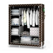 2-in-1 Portable Wardrobe - Brown/Gold Color May Vary | Furniture for sale in Greater Accra, Teshie-Nungua Estates