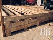 Master Size Pallet Bed With 5 Drawers 2 Closet | Building Materials for sale in Greater Accra, Tesano