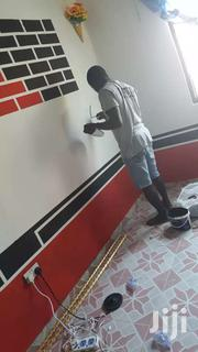 Home Painting Design.With The Use Of Both Wallpapers Or Paint | Automotive Services for sale in Central Region, Cape Coast Metropolitan