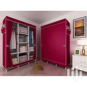 Lindy 3-in-1 Portable Wardrobe - 10 Shelves - Wine Red | Furniture for sale in Greater Accra, Teshie-Nungua Estates