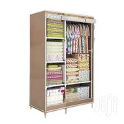 2 In 1 Foldable Wardrobe With 6 Shelves And 1 Hanging | Furniture for sale in Greater Accra, Teshie-Nungua Estates