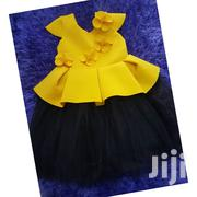 Yellow And Black Dress | Children's Clothing for sale in Greater Accra, Ga East Municipal