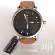 Bestwin Analog Unisex Watch- Brown Leather | Watches for sale in Greater Accra, Ga West Municipal