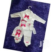 5 Piece Clothing Set - A Top And Down, A Hat, A Bib, And A Mittens | Children's Clothing for sale in Greater Accra, Ga East Municipal