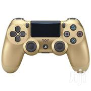 Sony Dualshock 4 Controller GOLD   Video Game Consoles for sale in Greater Accra, Darkuman