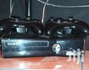Slightly Used Xbox 360 Slim With Two Cordless Controllers in Condition | Video Game Consoles for sale in Brong Ahafo, Sunyani Municipal